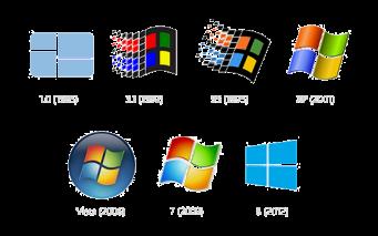 8407.Windows Logos